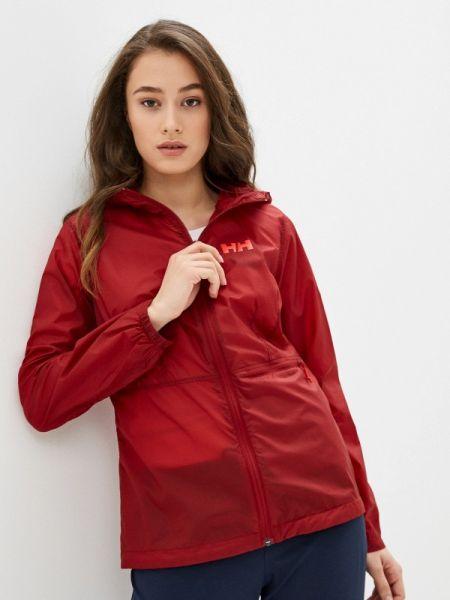 Куртка весенняя красная Helly Hansen