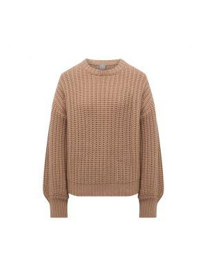 Бежевая кашемировая свитер Ftc