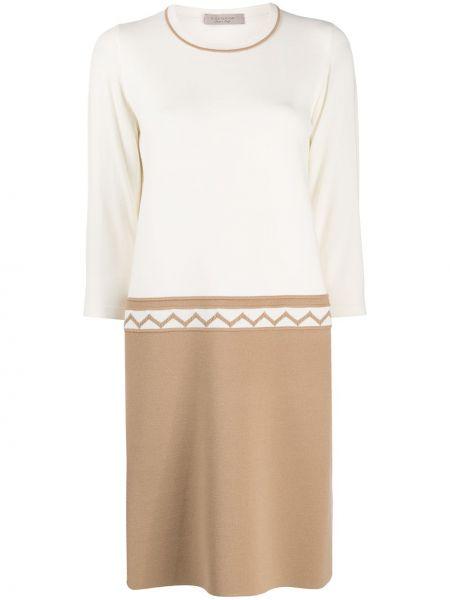 Трикотажное вязаное платье трапеция D.exterior