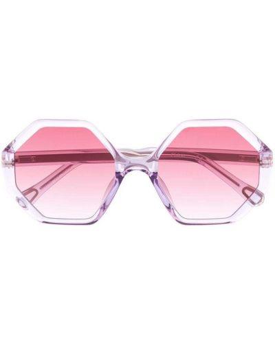 Fioletowe okulary Chloé Kids