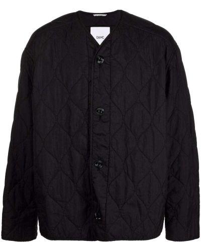 Czarna kurtka pikowana Oamc