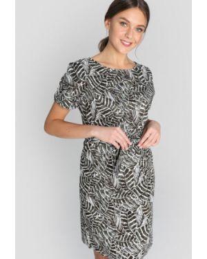 Платье с поясом через плечо из поплина Ostin
