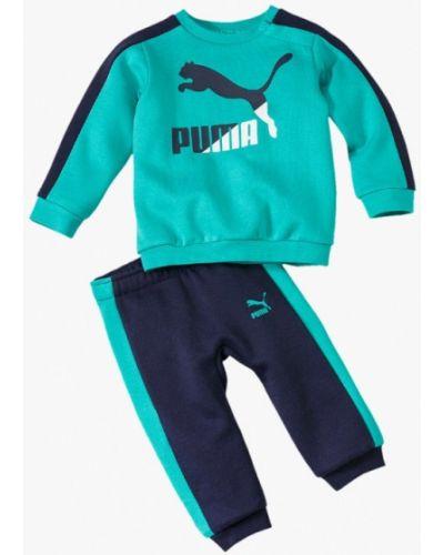 Костюм бирюзовый синий Puma