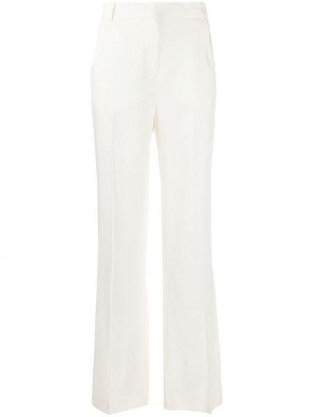 Szerokie spodnie z kieszeniami białe Jacquemus