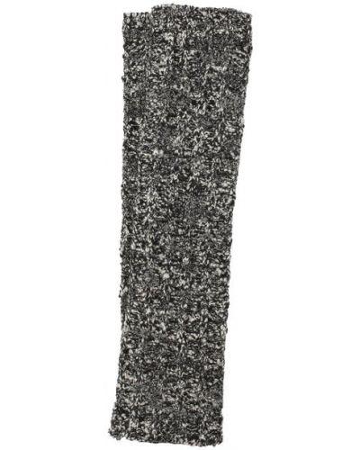 Серые шерстяные перчатки Dolce & Gabbana