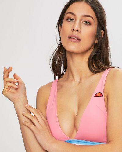 Розовый купальник с пуш-ап Ellesse