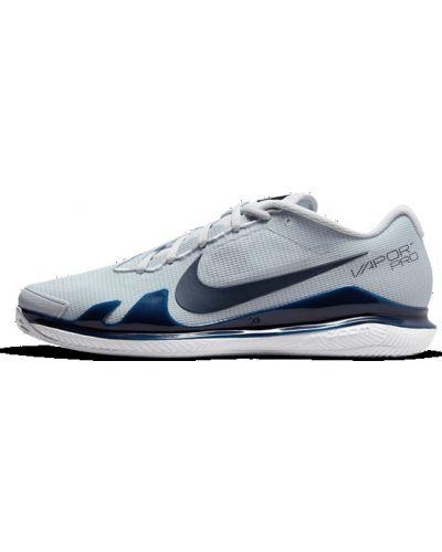 Теннисные кроссовки на шнуровке сетчатые Nike