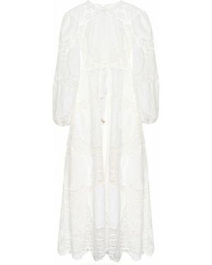 Платье льняное модерн Zimmermann
