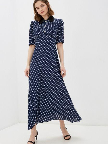 Синее платье Cavo