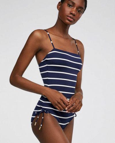 Слитный купальник - синий Oysho