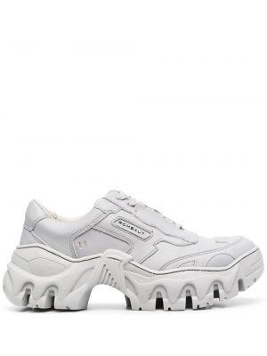 Sneakersy sznurowane koronkowe Rombaut
