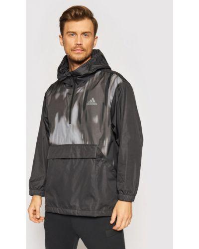 Czarna kurtka sportowa Adidas