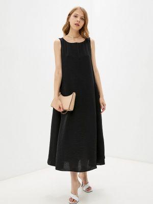 Черное весеннее платье элис