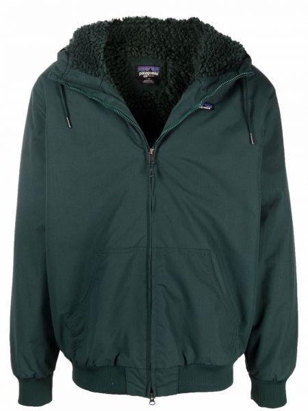 Зеленая куртка с карманами Patagonia