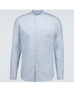 Koszula klasyczna długa niebieski Caruso