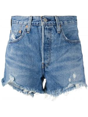 Джинсовые шорты с карманами со стразами Levi's®