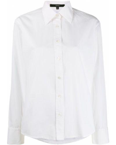 Рубашка с длинным рукавом белая ретро Gucci Vintage