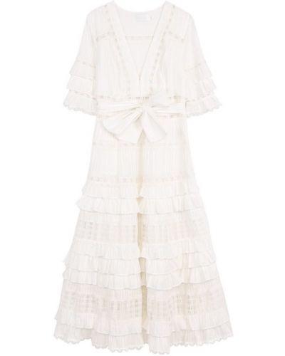 Платье мини миди со вставками Zimmermann