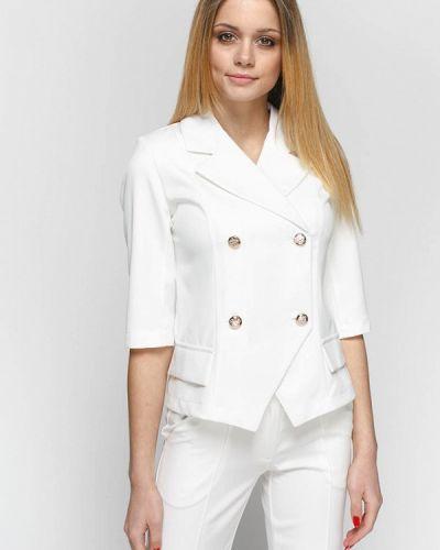 Пиджак белый Zubrytskaya