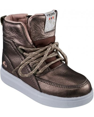 Сапоги из натуральной кожи на шнуровке с подкладкой Viking