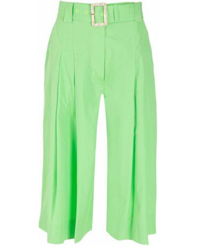 Зеленые хлопковые шорты Nk