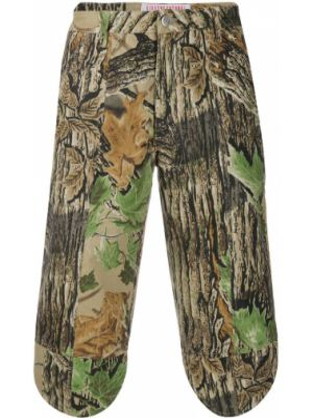 Хлопковые брюки с поясом на пуговицах винтажные Walter Van Beirendonck Pre-owned