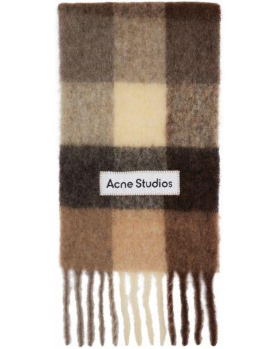 Шерстяной шарф - белый Acne Studios