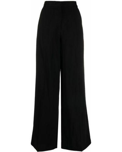 Свободные черные брюки свободного кроя 8pm