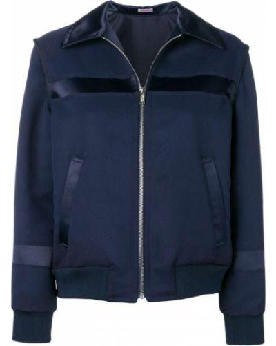 Синяя куртка с манжетами Sueundercover