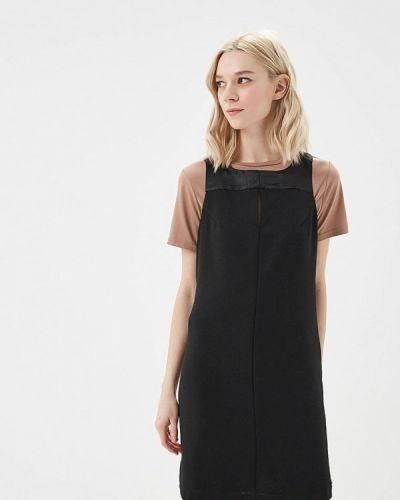 Черное платье прямое Phard