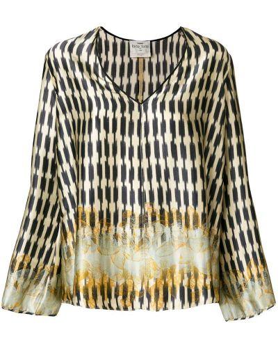 Блузка с длинным рукавом с вышивкой длинная Forte Forte