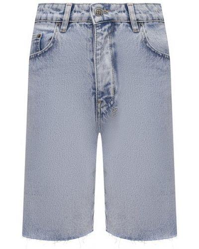Джинсовые шорты - голубые Ksubi