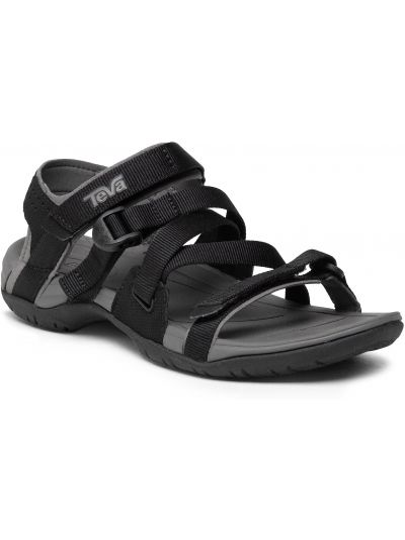 Czarne sandały sportowe Teva
