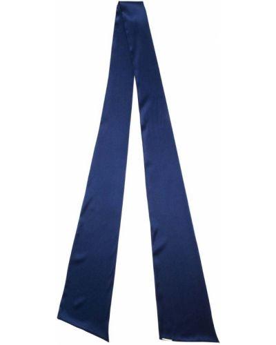 Синий шарф узкий Styland