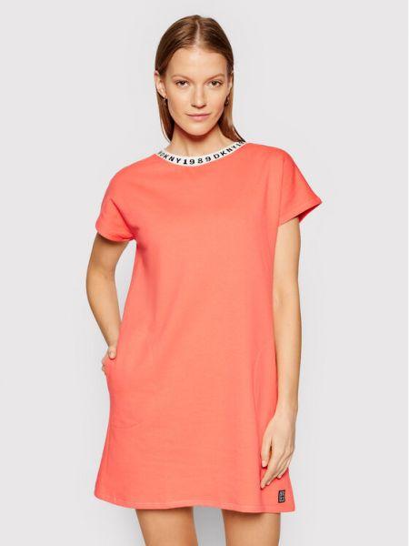 Koszula nocna - różowa Dkny