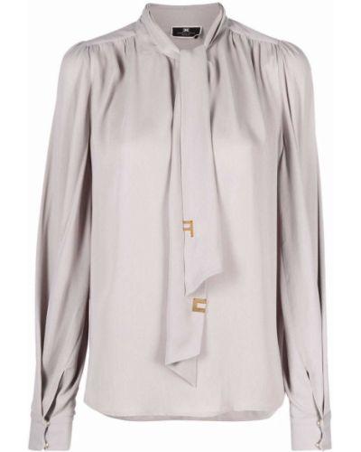 Bluzka z wiskozy Elisabetta Franchi