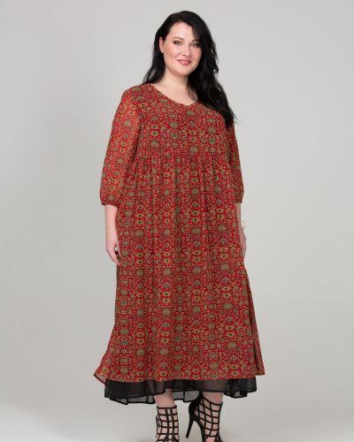 Платье в стиле бохо с цветочным принтом Intikoma