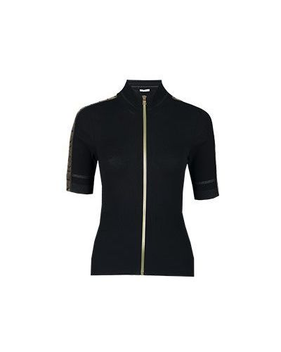 Джемпер черный Versace Collection