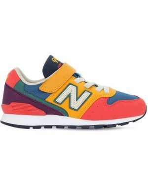 Кроссовки из искусственной кожи на шнуровке с подкладкой New Balance