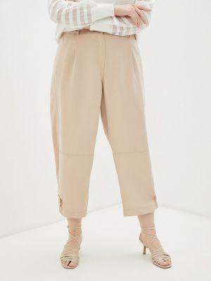 Прямые брюки - бежевые Samoon By Gerry Weber