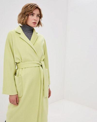 Пальто демисезонное зеленое Villagi