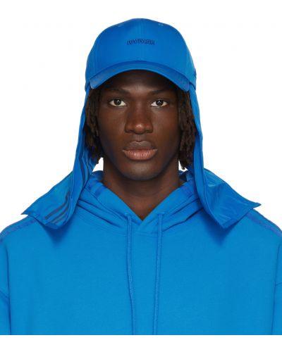 Niebieska czapka z daszkiem Adidas X Ivy Park