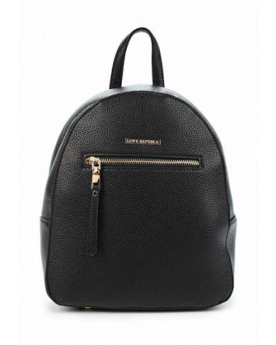 Черный рюкзак Love Republic