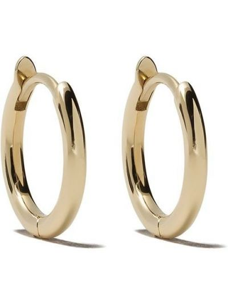 Желтые серьги-кольца Zoë Chicco