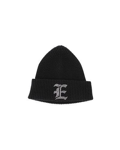 Черная шапка Ermanno Scervino