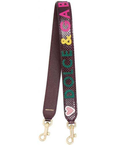 Ремень из кожи питона Dolce & Gabbana