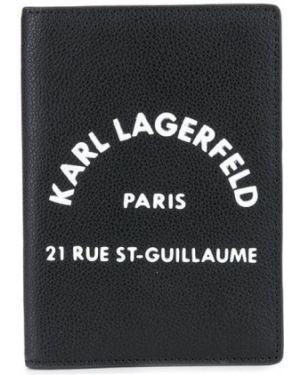 Кошелек черный спортивный Karl Lagerfeld