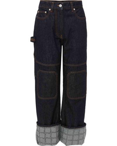 Джинсовые синие джинсы Jw Anderson