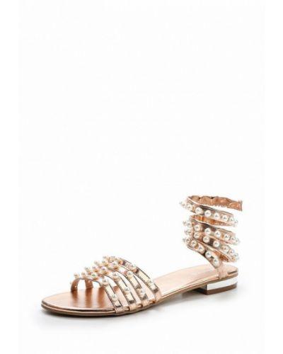 Розовые сандалии Evita