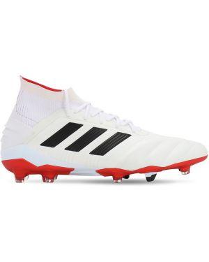 Półbuty skorzane sznurowane koronkowe Adidas Football